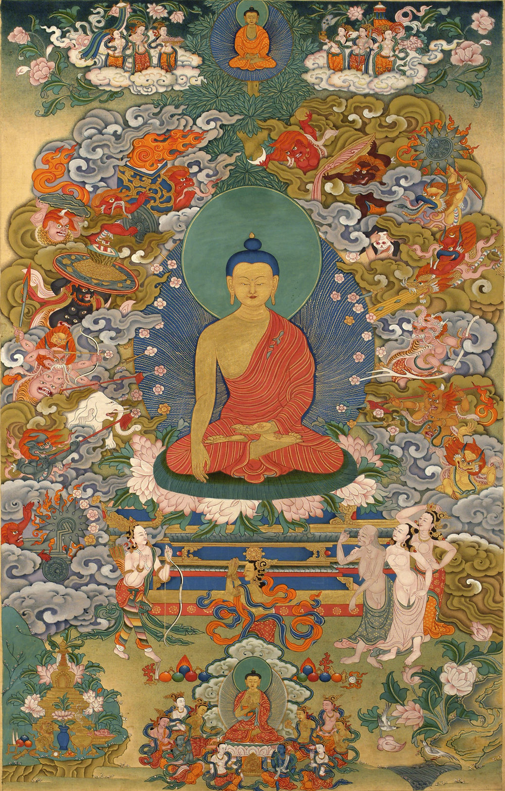 Buddha Shakyamuni: Erleuchtung