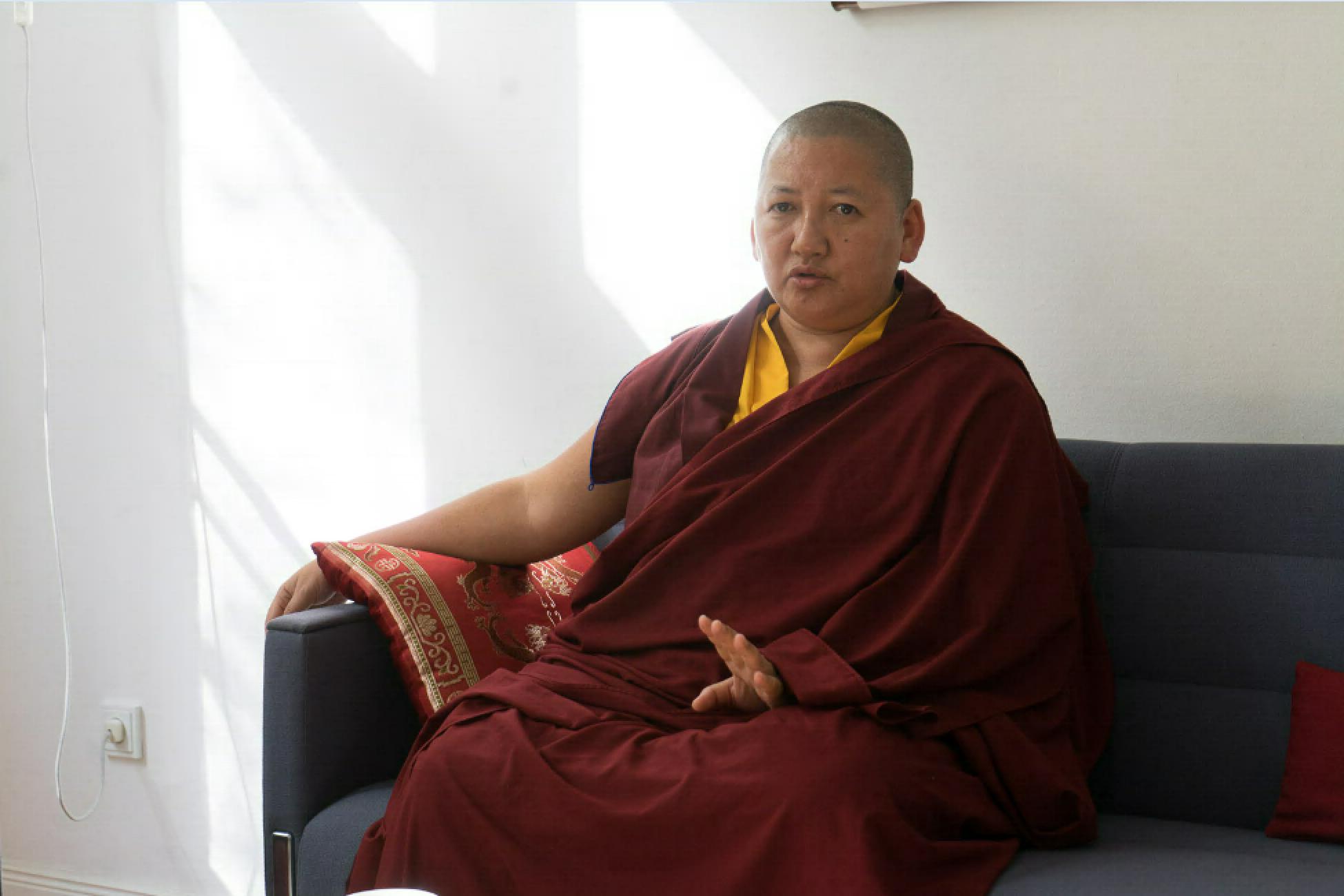 Khandro Rinpoche, Treffen mit der Gemeinschaft, 25. April 2018, Dharma Mati Berlin