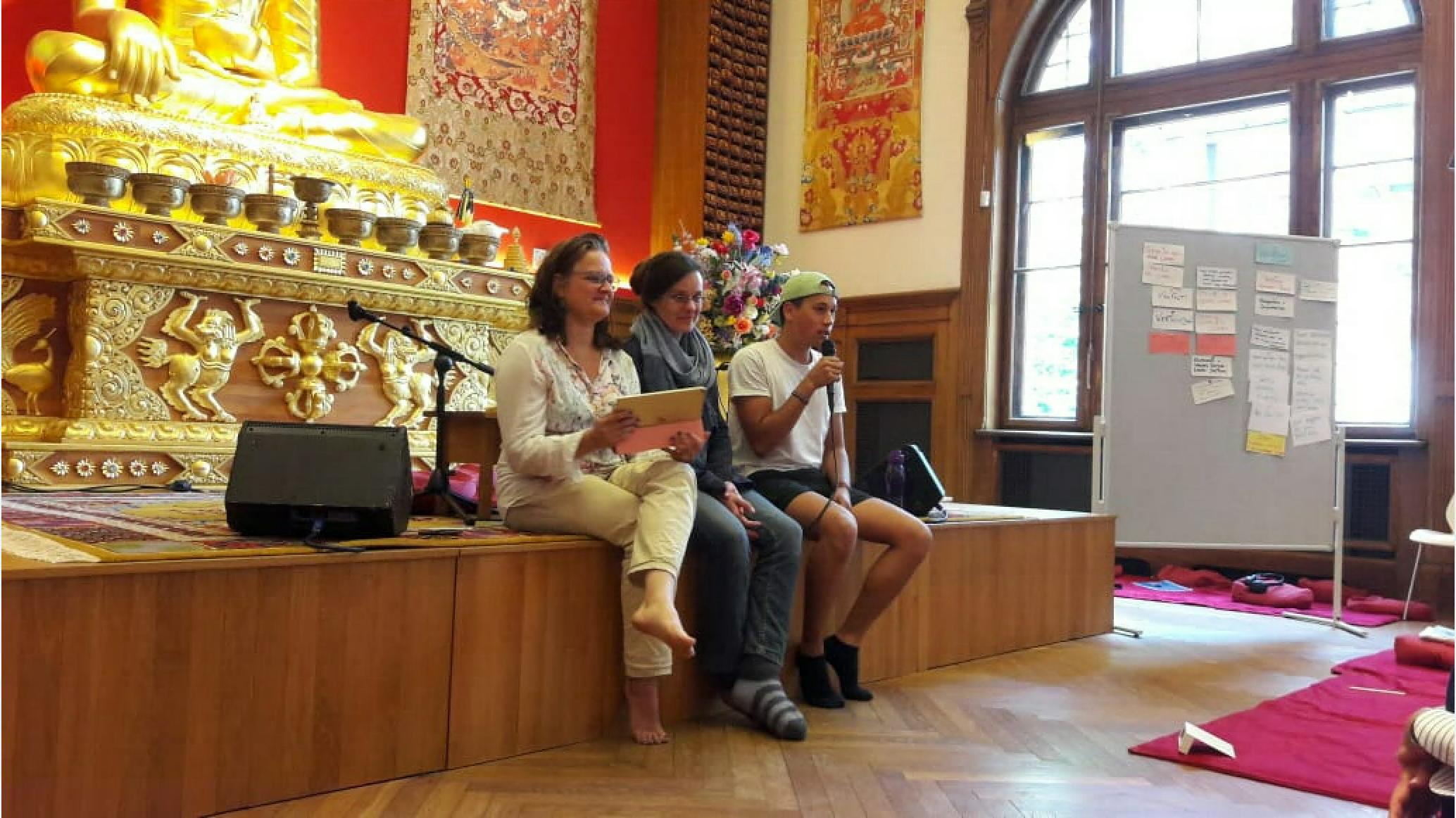 Sangha Sitzung, Sieben Punkte des Geistestraining, Dharma Mati Berlin (Mai 2018)
