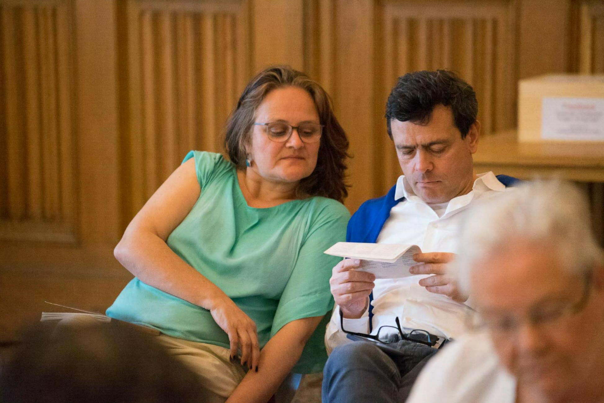 Gabriele und Philip, Sieben Punkte des Geistestraining, Dharma Mati Berlin (Mai 2018)