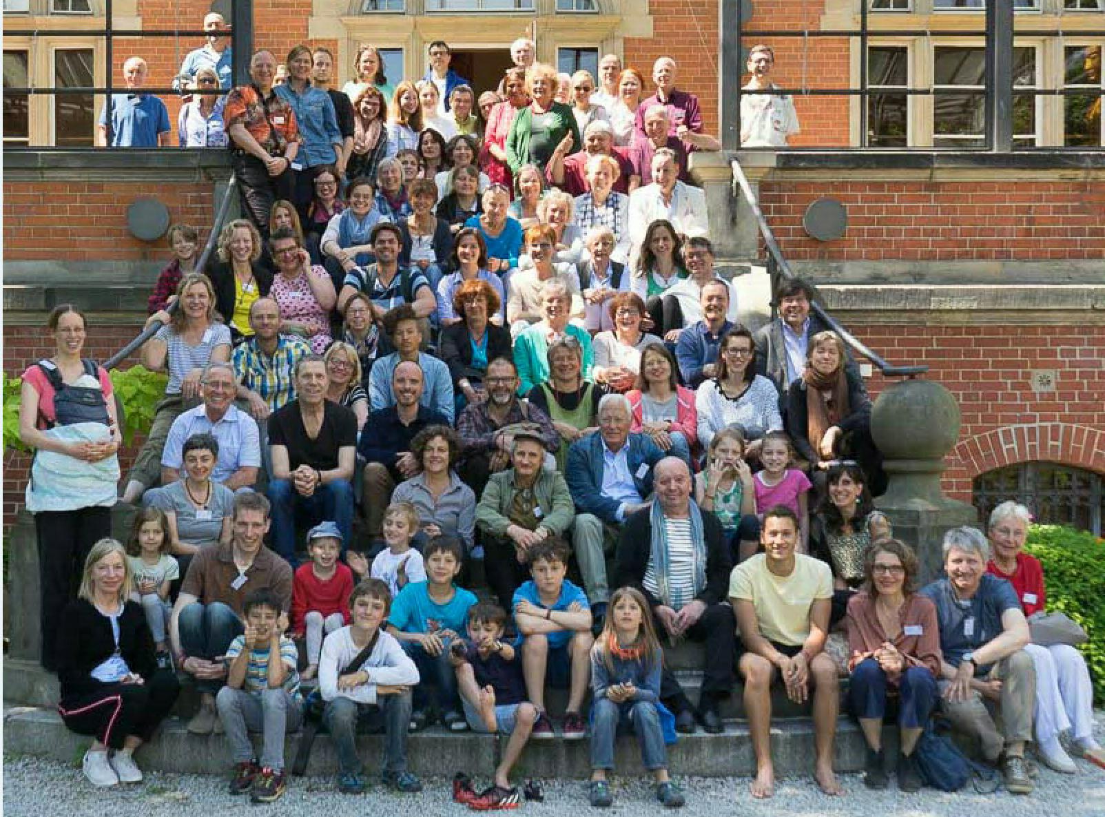 Gruppenfoto, Sieben Punkte des Geistestraining, Dharma Mati Berlin (Mai 2018)