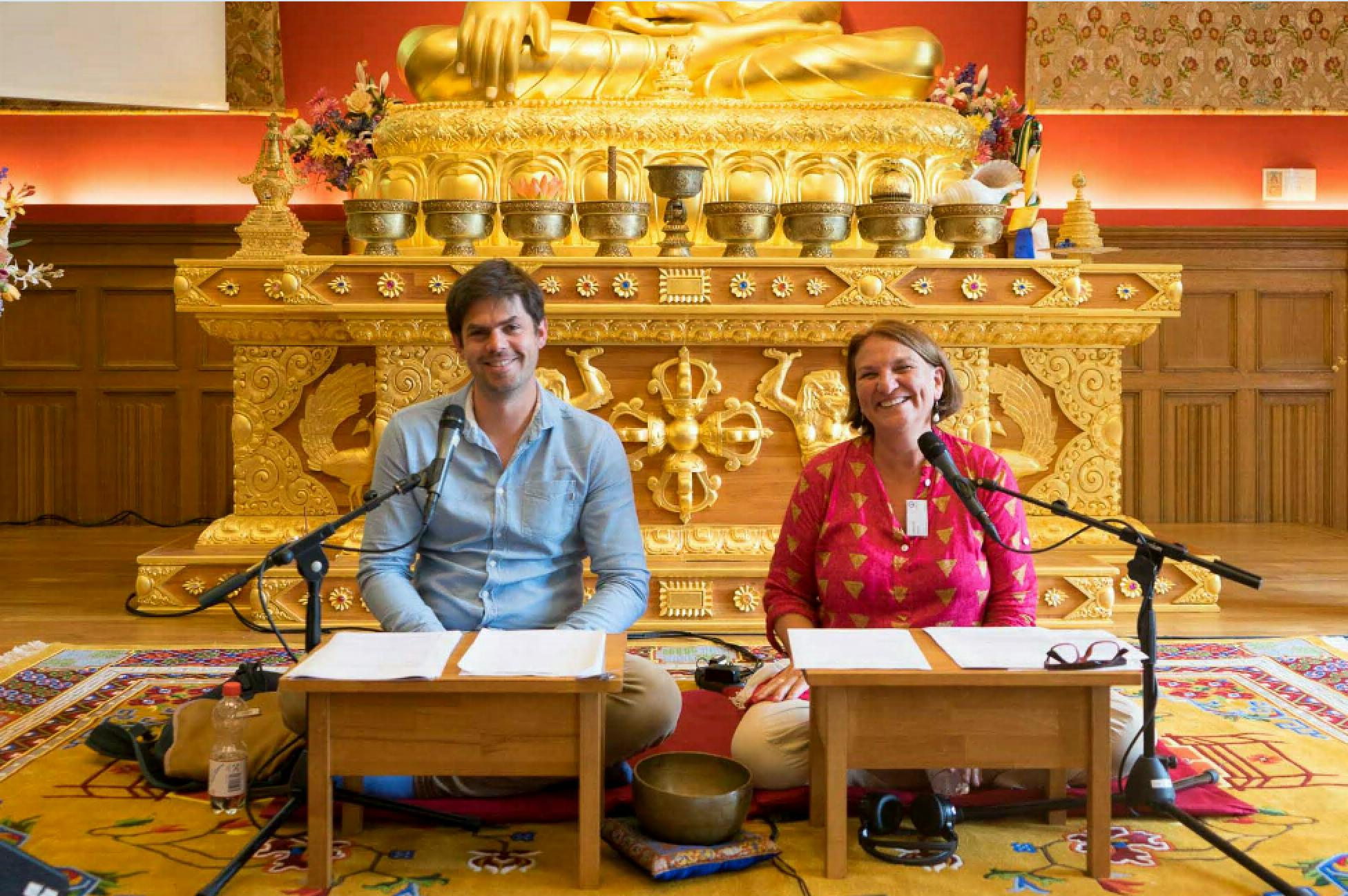 Ian und Jaborah, Sieben Punkte des Geistestraining, Dharma Mati Berlin (Mai 2018)