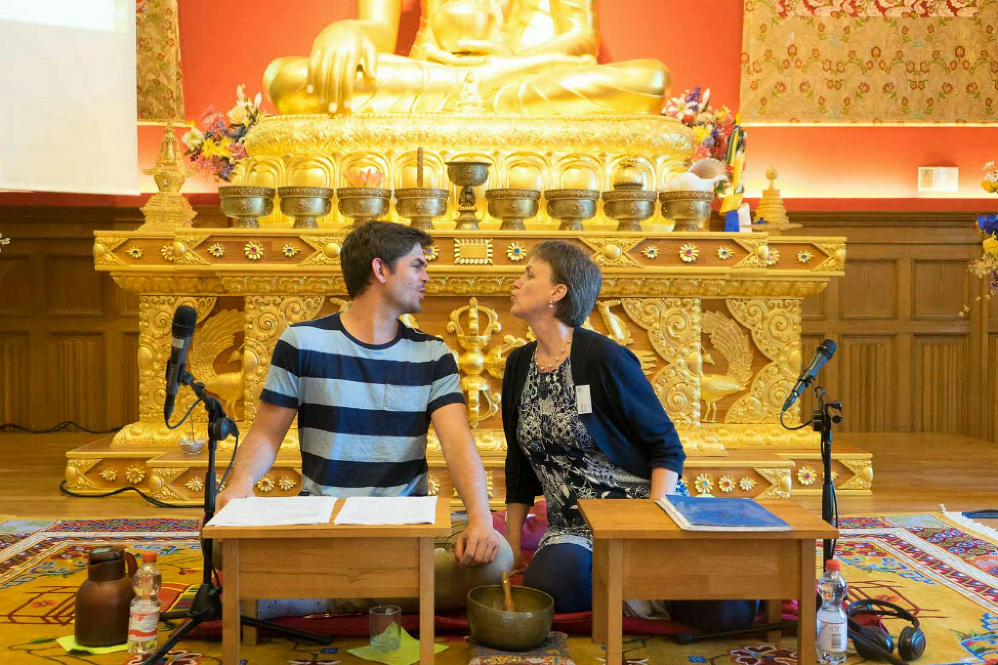 Ian und Kirsten, Sieben Punkte des Geistestraining, Dharma Mati Berlin (Mai 2018)