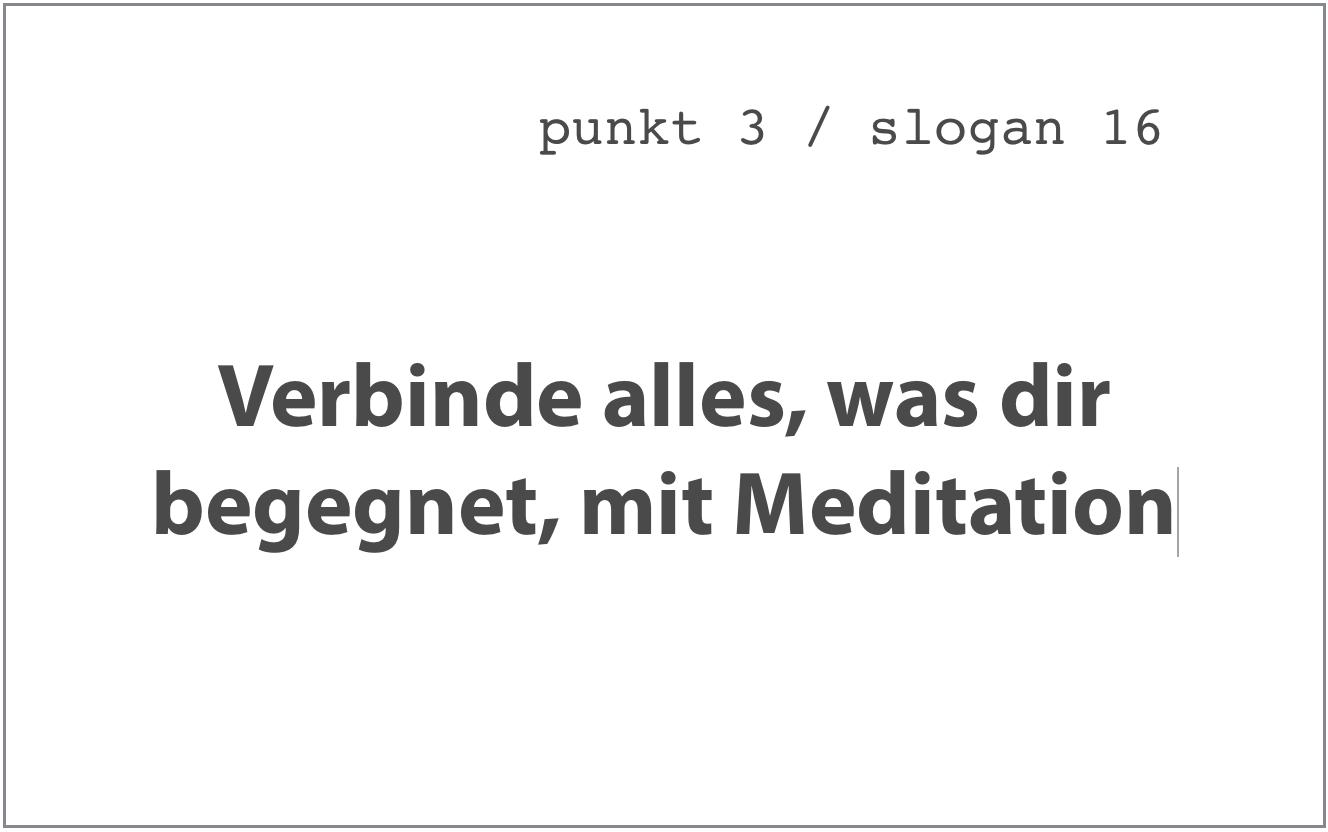 Slogan 16, Sieben Punkte des Geistestraining, Dharma Mati Berlin (Mai 2018)