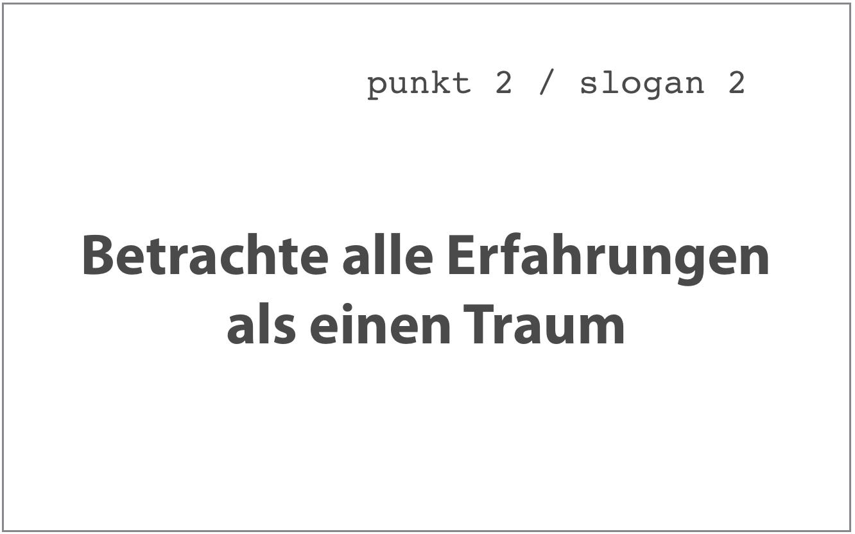 Slogan 2, Sieben Punkte des Geistestraining, Dharma Mati Berlin (Mai 2018)