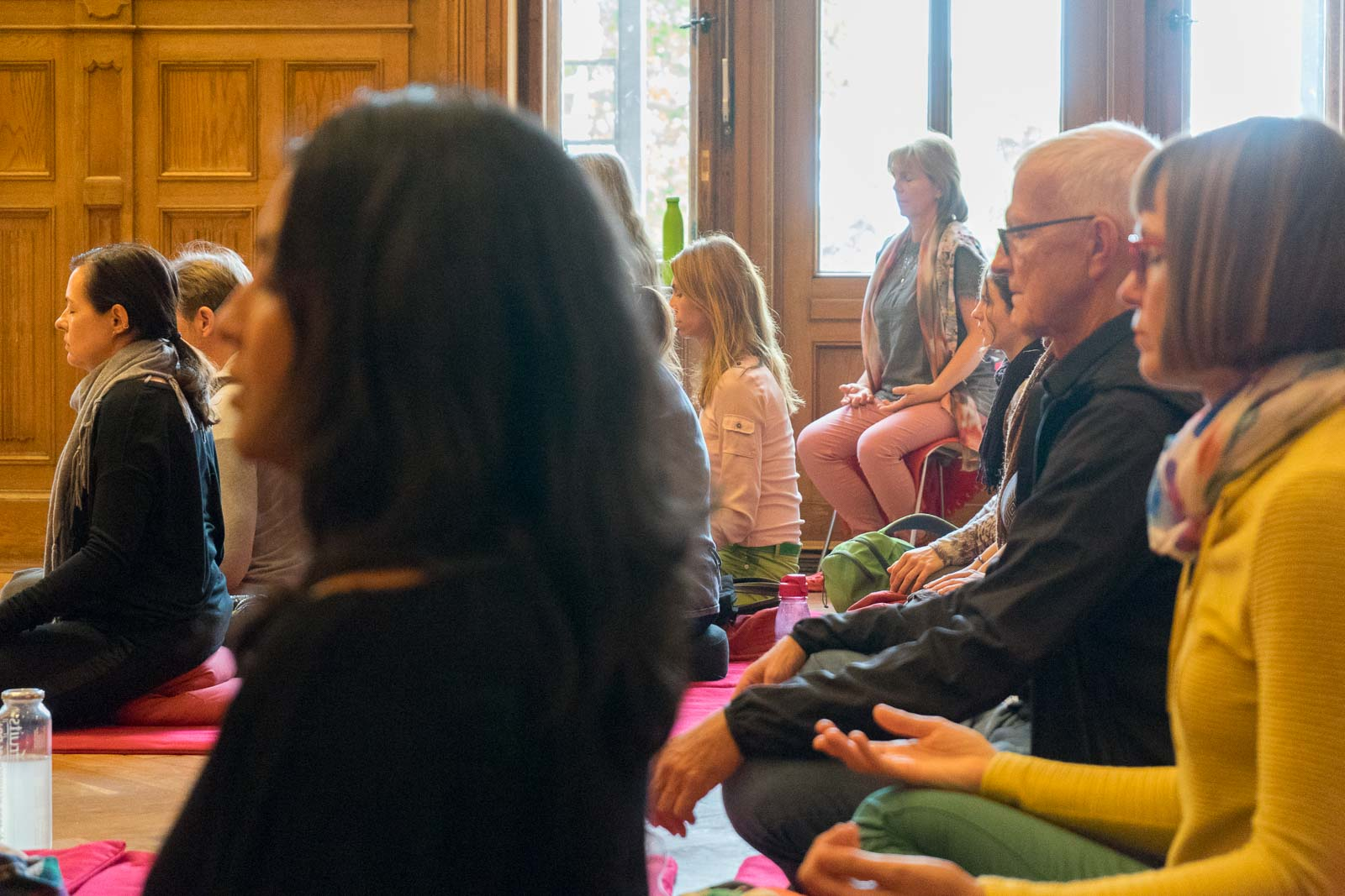 Meditation am Sonntag, Dharma Mati Berlin