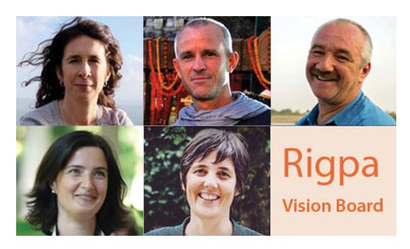 Rigpa Vision Board 2018