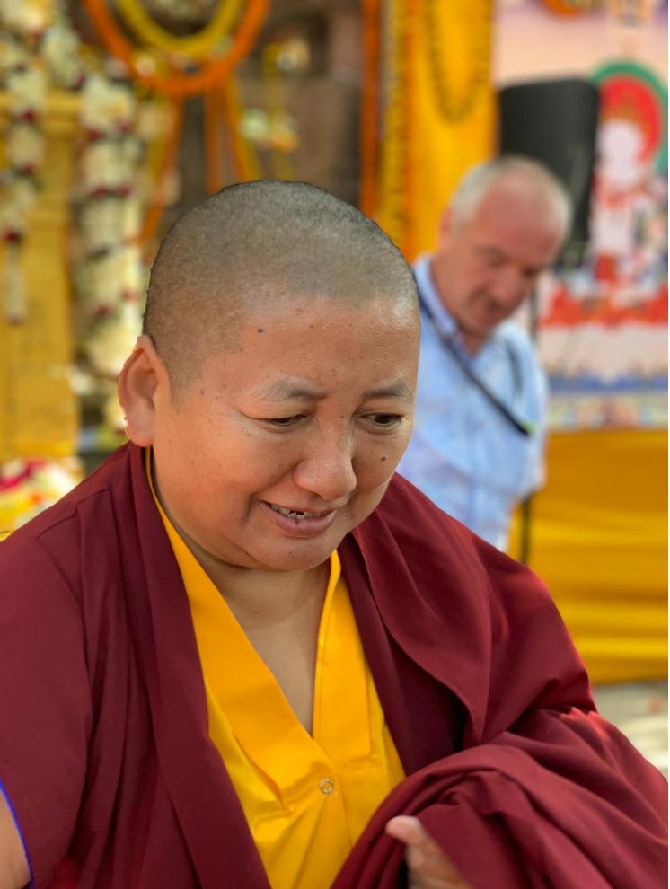 Khandro Rinpoche, Rigpa Gebetsfest, März 2019, Bodhgaya Indien