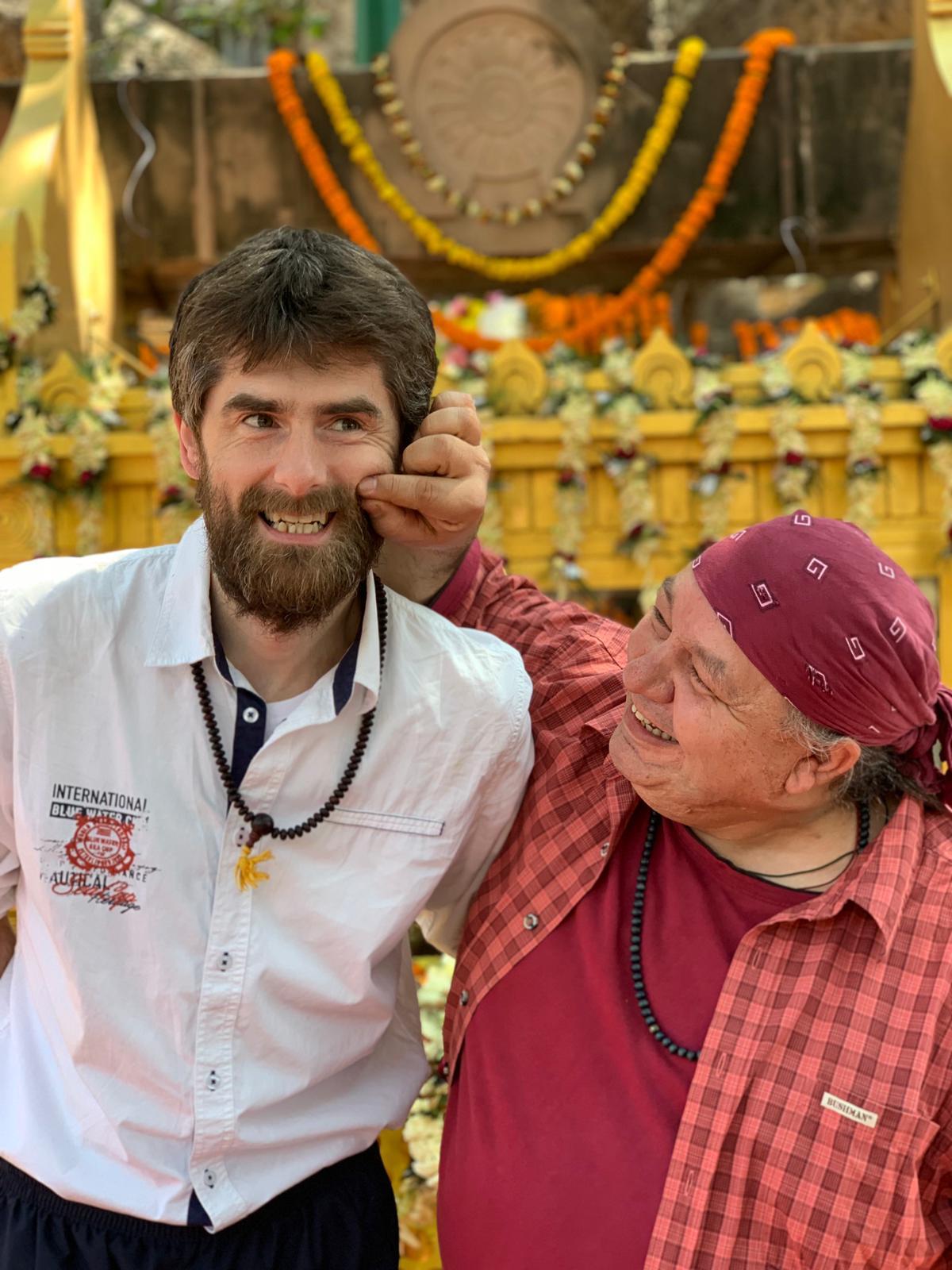 Unsere Freunde aus Tschechien. Rigpa Gebetsfest, März 2019, Bodhgaya (Indien)