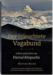 """Buchcover: """"Der erleuchtete Vagabund. Leben und Lehre von Patrul Rinpoche."""" von Matthieu Ricard"""